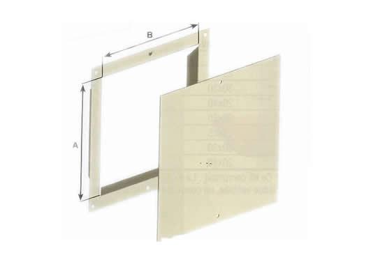 Trappe de ramonage blanche 20x20cm welem - Trappe de ramonage ...