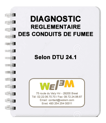 Diagnostic de conduit de fumée